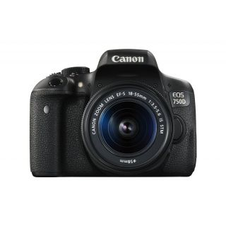 Product image of Canon EOS 750D + 18-55mm IS STM Lens