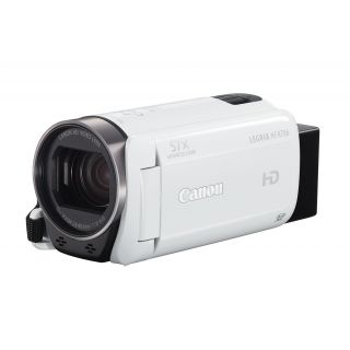 Product image of Canon LEGRIA HF R706 HD Camcorders 32x Optical Zoom 3 inch Screen (White)