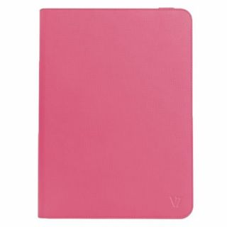 Product image of V7 Sim Universal Folio Case (Red) for iPad and 9 inch to 10.1 inch Tablet PCs