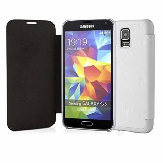 Product image of V7 Flip Case (White) for Samsung Galaxy S5