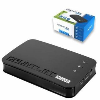 Product image of Patriot Gauntlet Node Wireless Hard Drive Enclosure (Black) for 2.5 inch HDD/SSD WiFi Storage with USB 3.0