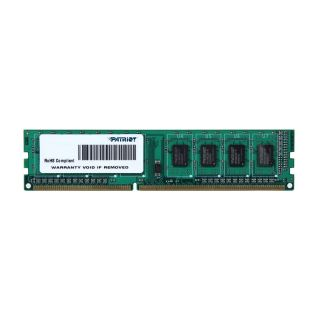 Product image of Patriot Signature Line 4096MB Memory Module (1x4096MB) 1333MHz PC3-10600 DDR3 SDRAM Unbuffered Non-ECC DIMM