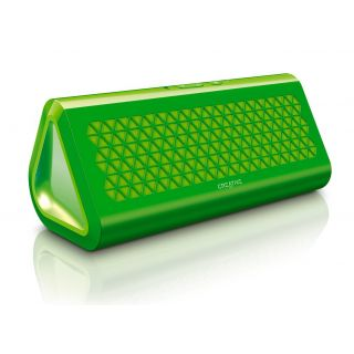Product image of Creative Airwave Portable Wireless Speaker with NFC (Green)