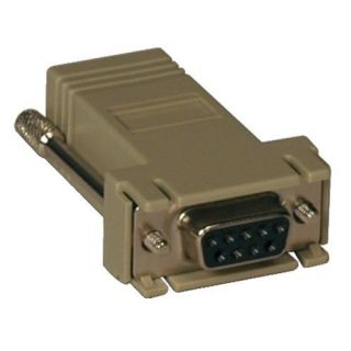 Product image of Tripp Lite DB9F - RJ45 Modular Serial Adaptor (Beige)