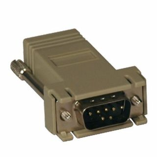 Product image of Tripp Lite DB9M - RJ45 Modular Serial Adaptor (Beige)