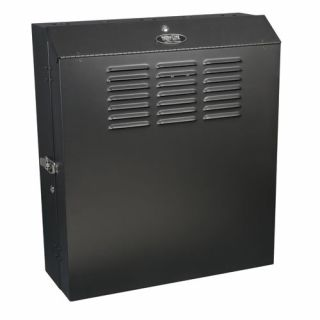 Product image of Tripp Lite SmartRack 5U Low-Profile Wall-Mount Rack Enclosure Cabinet (Black)