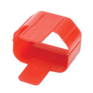 Product image of Tripp Lite Plug-lock Inserts (Keep C14 Power Cords Solidly Connected To C13 Outlets) Red (Pack 100)