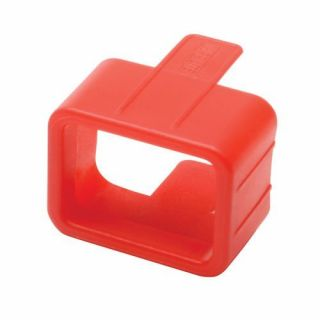 Product image of Tripp Lite Plug-lock Inserts (Keep C20 Power Cords Solidly Connected To C19 Outlets) Red (Pack 100)