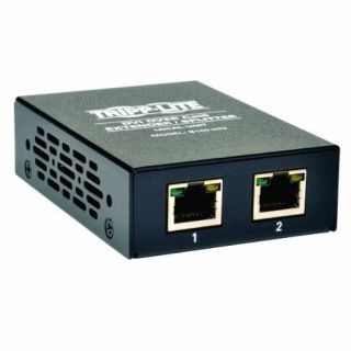 Product image of Tripp Lite 2-Port DVI Over Cat5/Cat6 Extender Splitter (1920x1080) Video Transmitter (Black)