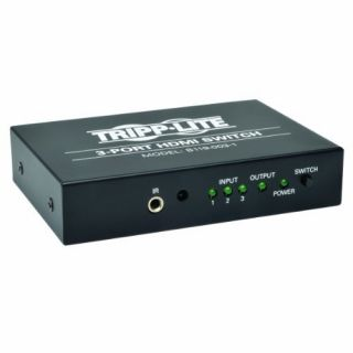 Product image of Tripp Lite 3 Port HDMI Switch with Remote Control