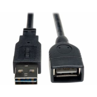 Product image of Tripp Lite (3.05m) Universal Reversible USB 2.0 Hi-Speed Extension Cable (Reversible A to A M/F)