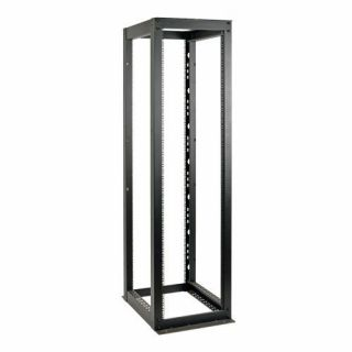 Product image of Tripp Lite SmartRack (52U) Heavy Duty 4-Post Open Frame Rack (Black) for Secure Network Rack Equipment