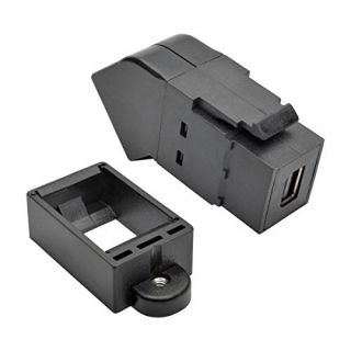 Product image of MDP to DP Keystone Panel Mount Coupler