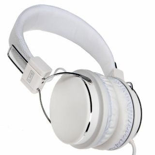 Product image of DYNAMODE LMH-733MV DYNAMODE STEREO HEADPHONES WITH INLINE VOLUME AND MICROPHONE 3.5mm JACK WHITE