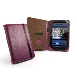 Product image of Tuff-Luv Embrace Leather Case (Purple) for Amazon Kindle Fire and Kindle Keyboard
