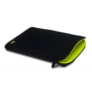 Product image of be.ez LA robe Air Black Addict Sleeve for 13 inch MacBook Air Notebook (Black/Wasabi)