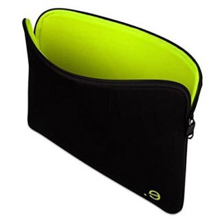Product image of be.ez LA robe Addict Sleeve (Black/Wasabi) for 13 inch MacBook Air Notebook