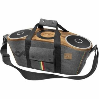 Product image of The House of Marley House of Marley Bag of Riddim Bluetooth Portable Audio System with Carry Bag (Midnight)