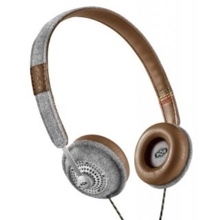Product image of HOMEDICS House of Marley Jammin Range, Harambe Over Ear Headphones No Mic, Saddle