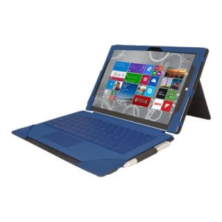 Product image of Urban Factory Elegant Folio Tablet Case (Navy Blue) for Microsoft Pro 3