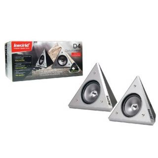 Product image of KWORLD DP0400U Kworld DP0400u 2.0 D4 Dark Pyramid Speakers Portable 4W RMS USB Retail