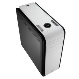Product image of AEROCOOL EN52629 Aerocool DS200 Gaming Case, ATX, 400W, USB3, Noise Dampening, LCD, Fan Controller, White