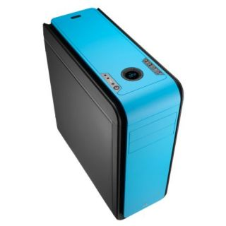 Product image of AEROCOOL EN52599 Aerocool DS200 Gaming Case, ATX, No PSU, USB3, Noise Dampening, LCD, Fan Controller, Blue
