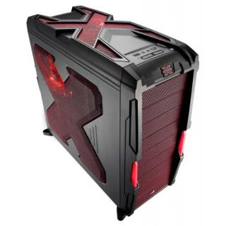 Product image of Aero Cool EN58032 Aerocool Strike-X Advance Midi Tower Case- Red/Black