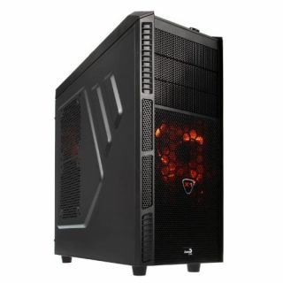 Product image of Aero Cool EN57059 Aerocool Xpredator X1 Midi Tower Case - Black
