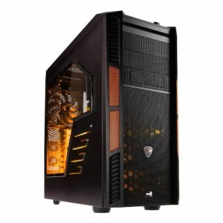 Product image of Aero Cool EN57103 Aerocool Xpredator X3 Gaming Tower Case - Black/Orange