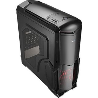 Product image of Aero Cool EN55415 Aerocool Battle Hawk Midi Tower Gaming Case - Black