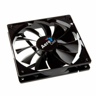 Product image of Aero Cool EN51349 Aerocool Dark Force Fan - Black - 140mm