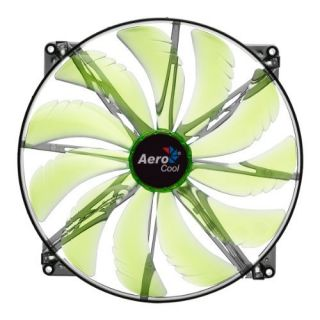 Product image of Aerocool Silent Master LED Fan Green - 200mm