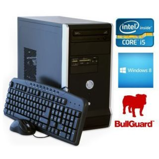 Product image of SPIREPC I54440W8P41-6 Spire PC, Micro ATX, I5-4440, 4GB, 1TB, KB & Mouse, Card Reader, Bullguard, W8.1 Pro 64-bit