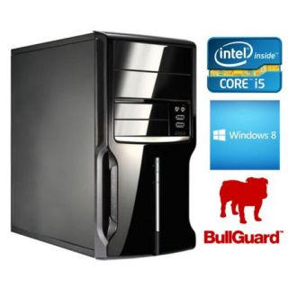 Product image of SPIREPC I54440W845-1 Spire PC, Micro ATX, I5-4440, 4GB, 500GB, KB & Mouse, Card Reader, Wireless, Bullguard, W8 64-bit