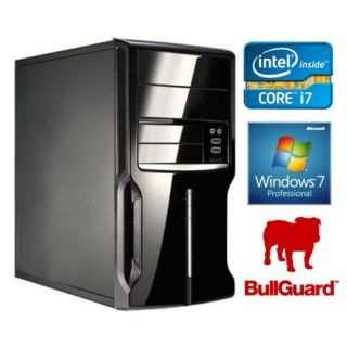 Product image of SPIREPC I74790W7P41-1 Spire PC, Micro ATX, I7-4790, 4GB, 1TB, KB & Mouse, Card Reader, Bullguard, W7 Pro 64-bit