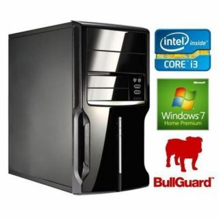 Product image of SPIREPC I34170W7H4D240-1 Spire PC Micro ATX i3-4170 4GB 240GB SSD KB & Mouse CR Wireless Bullguard W7 Pre 64-bit