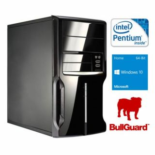 Product image of SPIREPC G3250W1045-1 Spire PC Micro ATX G3250 4GB 500GB KB & Mouse Card Reader Wireless Bullguard Windows 10 Home 64-bit