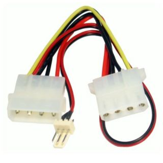 Product image of SPIRE RB-523 4-pin to 3-pin Fan Convertor Cable 15cm