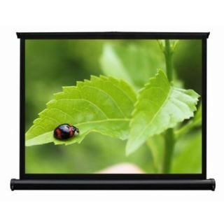 Product image of Pico Genie 60 inch Self Standing Portable Desktop Screen (Black) with Carry Handles