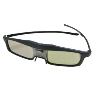 Product image of Pico Genie Rechargeable Active 3D Glasses for use with 3D Projectors (Black)