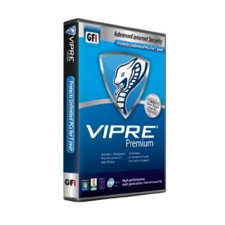 Product image of VIPRE P412IEXUS00 Vipre Premium Internet Security Unlimited Edition1 Year Retail DVD