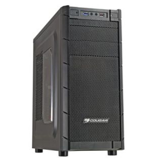 Product image of Cougar Archon Gaming Case ATX Mid Tower No PSU Max 5 Fans 7 PCI Cards USB 3.0 (Black/Orange)