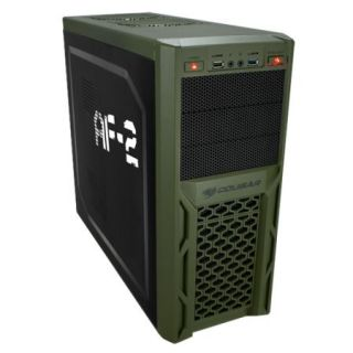 Product image of COUGAR SOLUTION 67M3 AF2 Cougar Solution 67M3 AF2 Gamer Case ATX No PSU up to 8 Fans Military Mesh Black