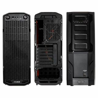 Product image of Cougar MX310 Cougar MX310 Midi-Tower Gaming Case - Black Side Window