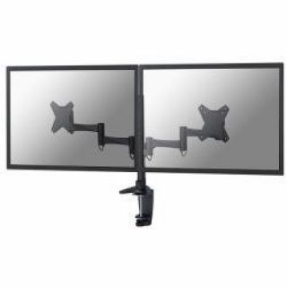 Product image of NewStar FPMA-D1330DBLACK Desk Mount (Black) for 10 inch to 24 inch Flat Screens