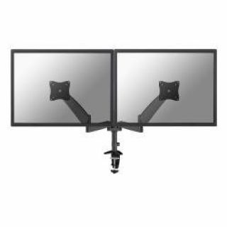 Product image of NewStar FPMA-D950DBLACK Flat Screen Desk Mount for 2 Flat Screens up to 27 inch