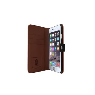 Product image of Tactus OmniWallet Folio Case (Black/Tan) for iPhone 6