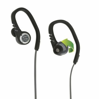 Product image of Scosche Sport Earbuds with tapIT Remote and Mic (Black/Grey)