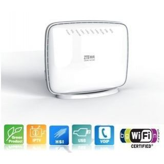 Product image of ZTE ZXHN-H168N Advanced VDSL2+ Gateway with 300Mbps 802.11n Wi-Fi (White)